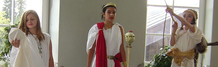 Römertag 2009: Ein strahlender Herbsttag und lebendige Antike